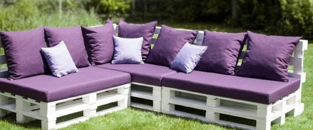 Comment fabriquer un salon de jardin en palette