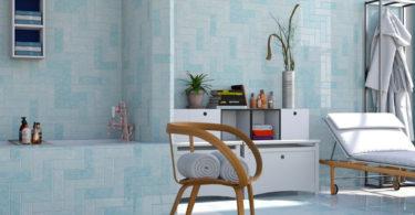 Mur salle de bain