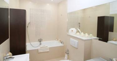 Revetement plafond salle de bain